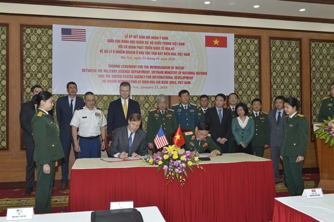 Biên Hoà Airbase Dioxin remediation to start