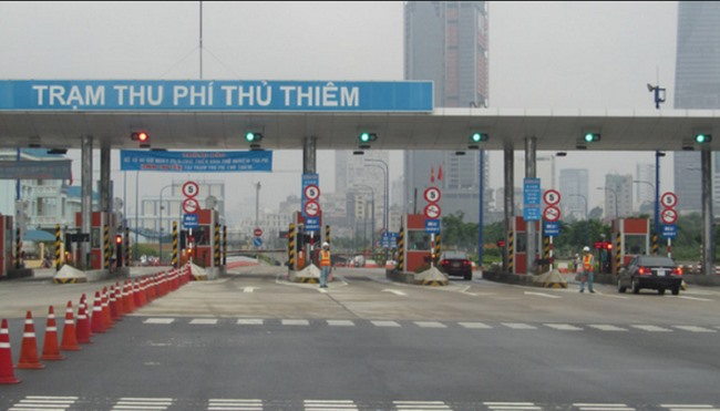 Tollbooths in Thủ Thiêm Tunnel to be pulled down
