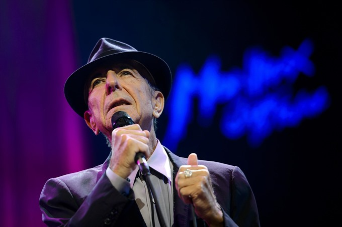 Leonard Cohen wins first Grammy after death