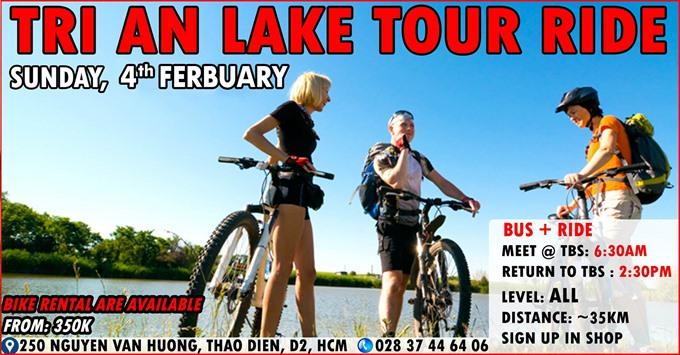 The Trị An Lake Sunday Ride Tour