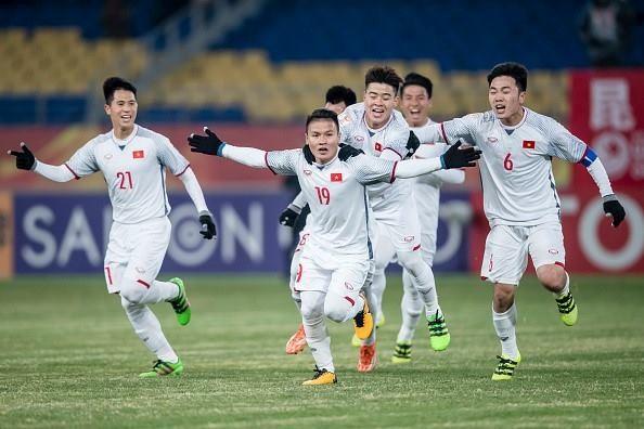 VN U23 team receive prize of 1 million