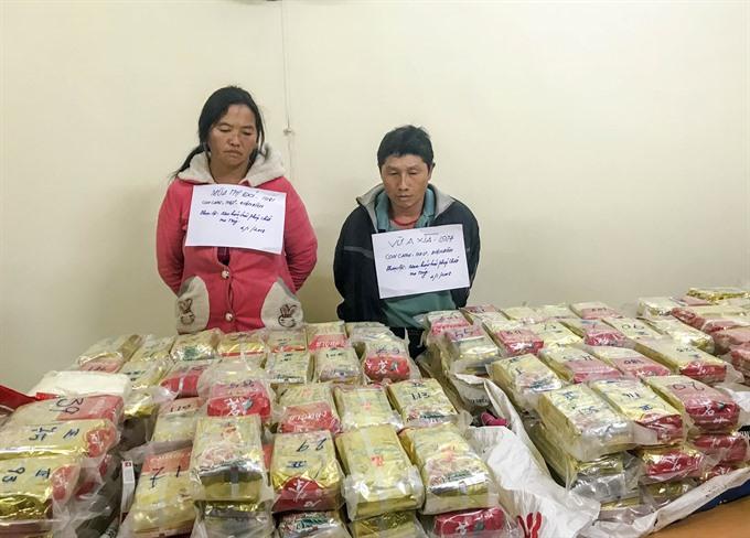 Điện Biên Police seize huge heroin haul