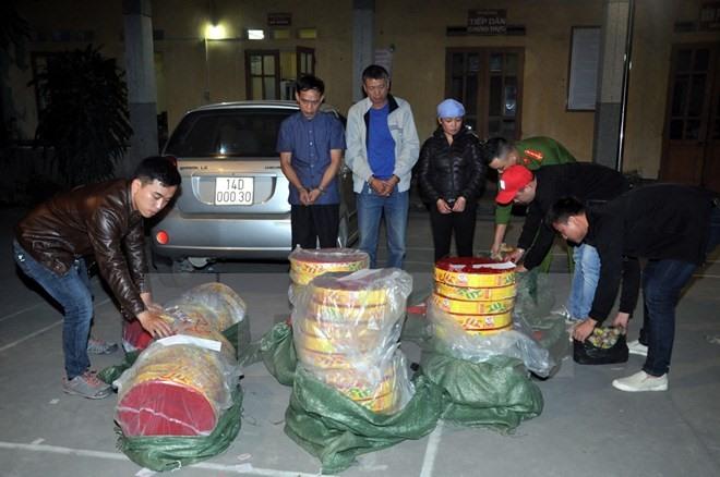 Firecracker smugglers feel heat as Tết nears