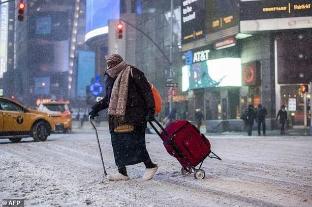 Bomb cyclone pounds eastern US four reported dead