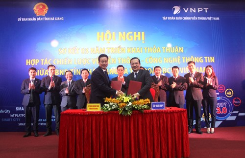 VNPT to help Hà Giang become smart city