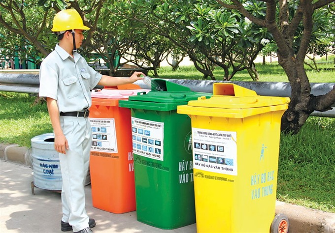 Waste sorting at source ready to begin in HCM City