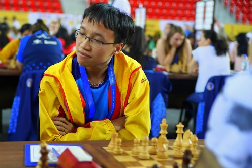 Việt Nam tie with Georgia 2 at Chess Olympiad