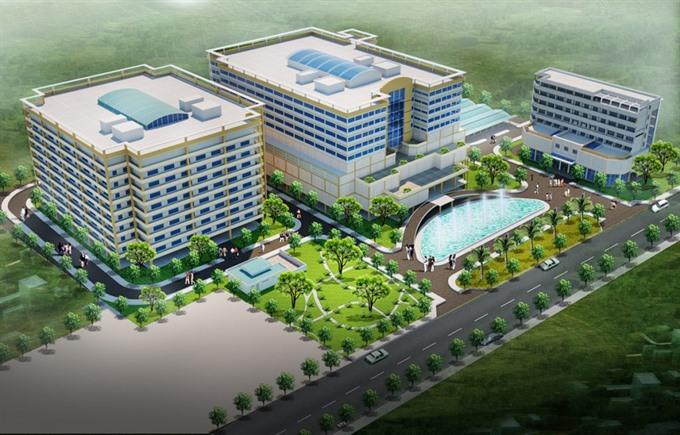 Construction on Xuyên Á Hospital starts in Tây Ninh Province