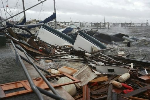 One dead as monstrous Hurricane Michael tears into Florida