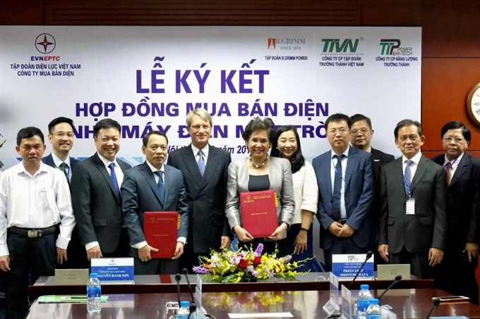 BGRIM clinches VN solar power supply deal with EVN