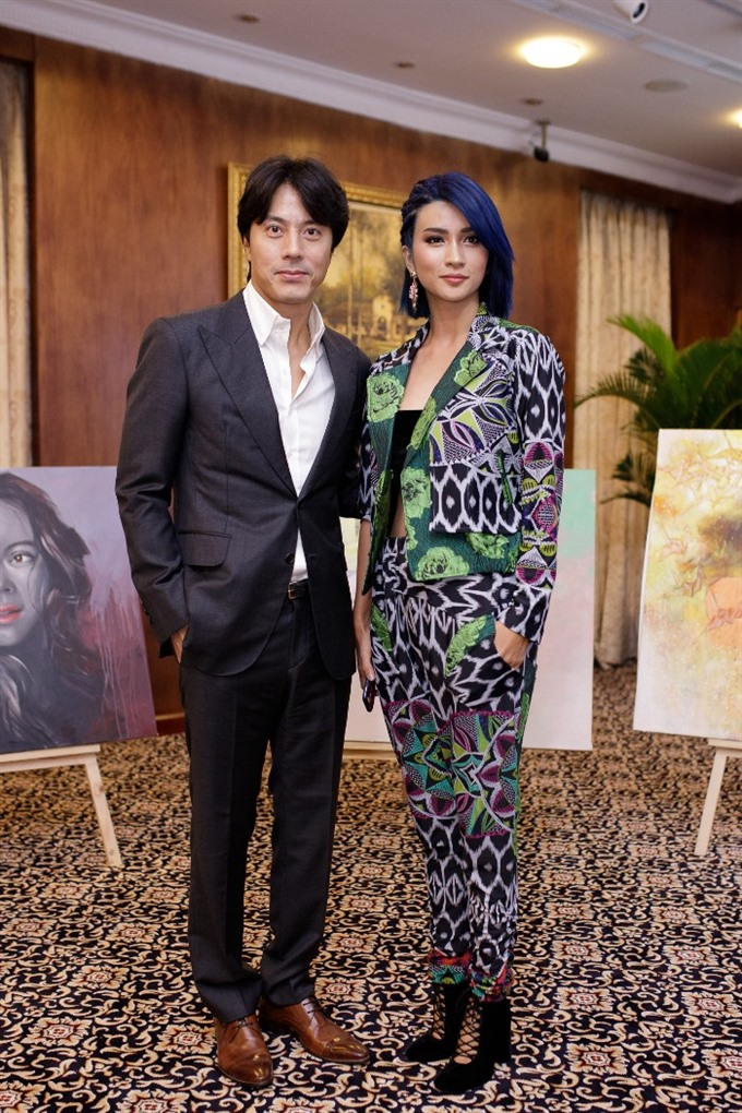 Joint film project features Korean star