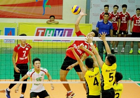 Vĩnh Long defeat Military Zone 4 at Junior Volleyball Championship