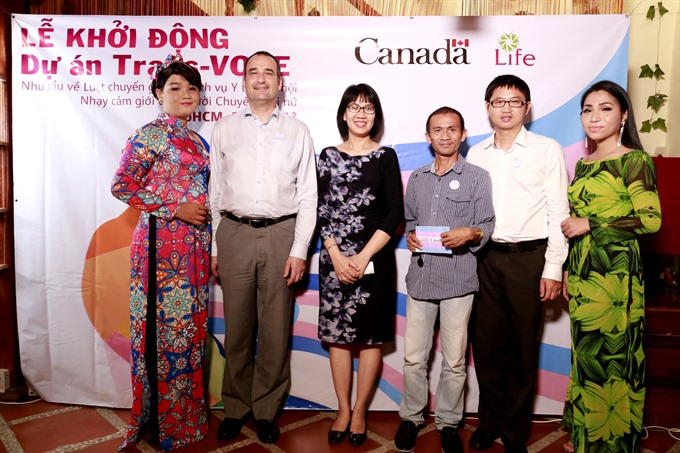 Project to support transgender women launches in HCM City