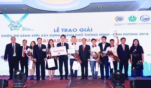 Vietnamese team wins intl smart city initiative competition