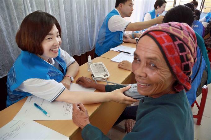 Charity medical programme begins in Quảng Ngãi