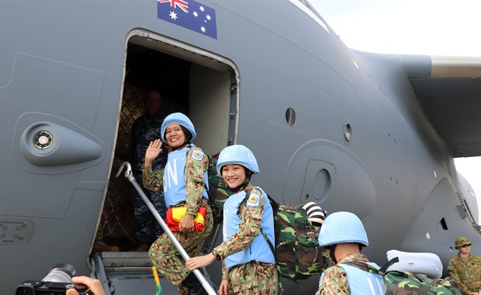 Second group of Vietnamese doctors leave for UN peacekeeping mission in South Sudan