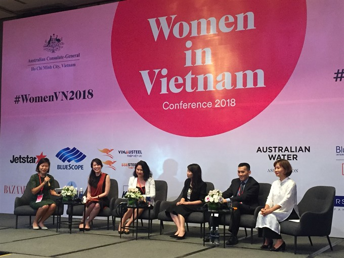Women in Việt Nam Conference debuts in HCM City