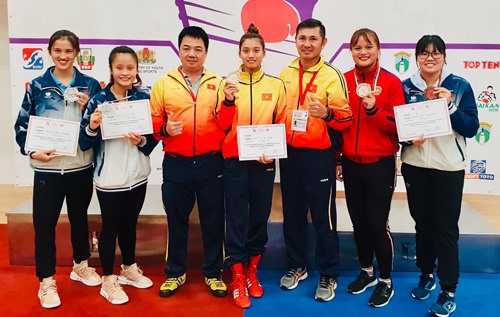 Tâm wins gold at intl boxing event in Bulgaria