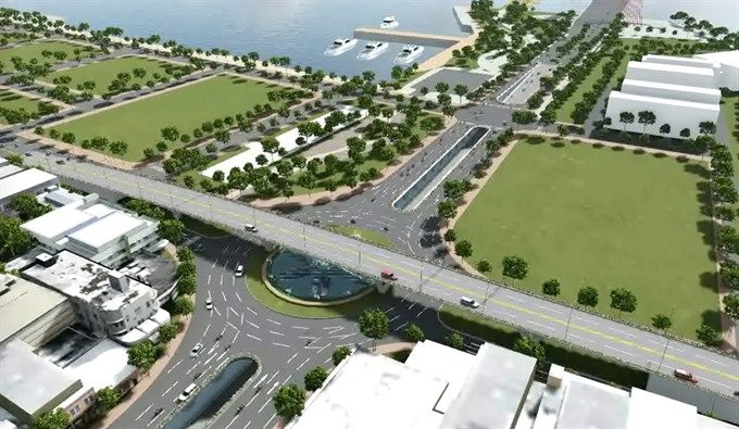 Central city to build key projects at busy junctions