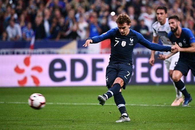 Loew defiant as Griezmann double sinks very good Germany