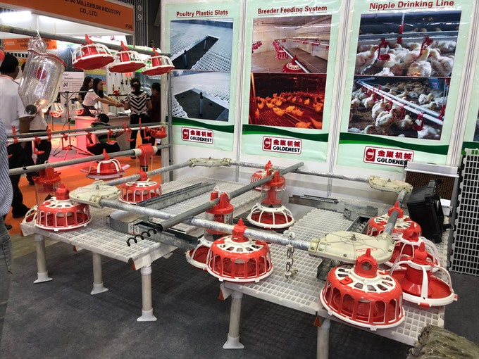 Livestock feed expo opens in HCM City