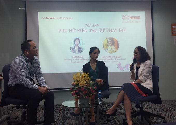 Nestle Việt Nam discusses work family balance for women