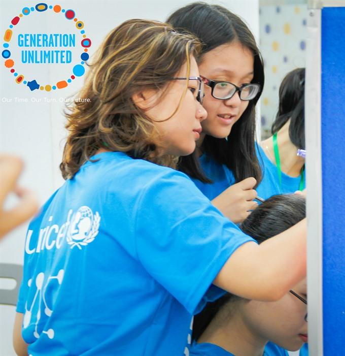 UNICEF seeks young innovators for global initiative