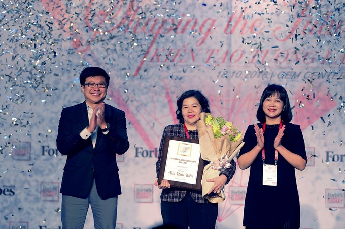 Vinamilk CEO gets lifetime achievement prize