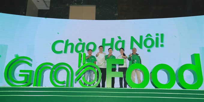 Grab launches food delivery service in Hà Nội