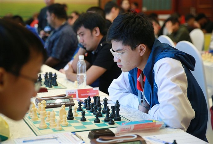 Việt Nam beat Canada in seventh round of Chess Olympiad