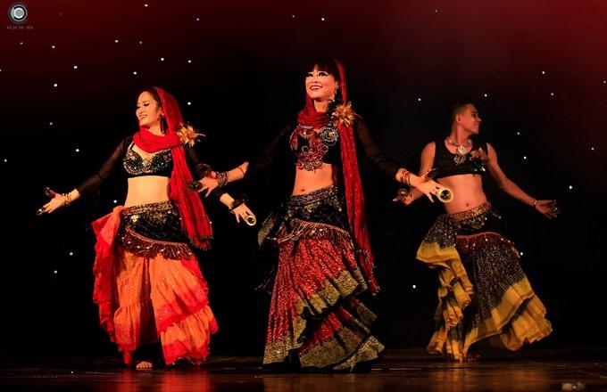 Ninh Bình hosts Ahlan International Belly Dance Festival
