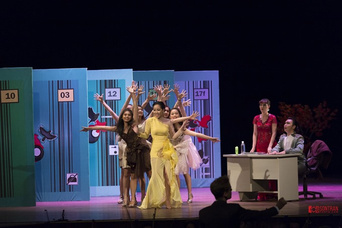 Operetta Die Fledermaus at HCM City Opera House on Sunday