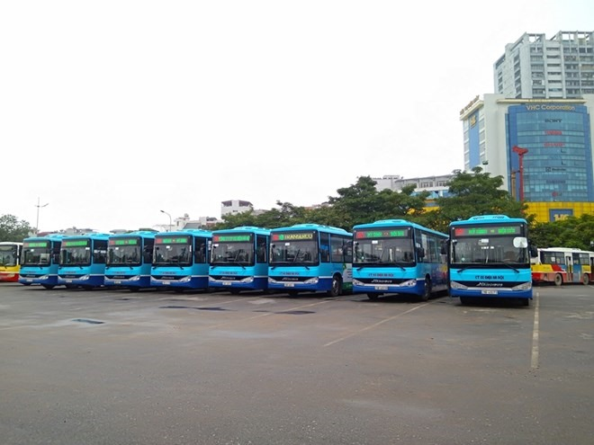 More bus route from Hà Nộis centre to Nội Bài airport