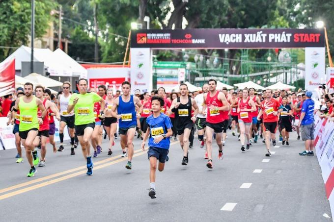 Techcombank HCM City International Marathon to start