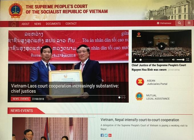 Peoples Supreme Court e-portal get facelift