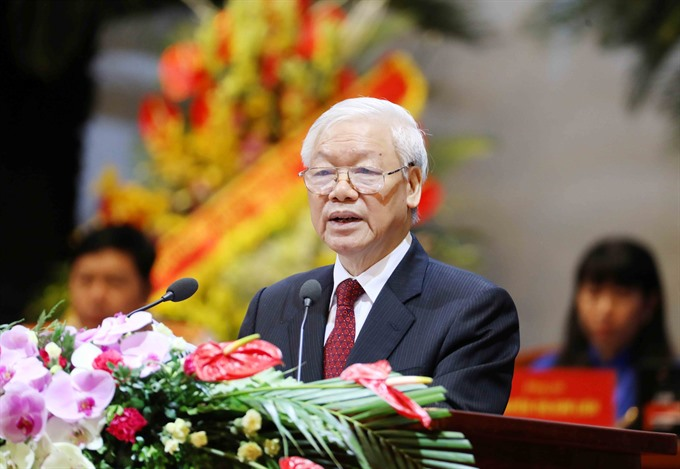 National Assemblys voting for Party chief Trọng to become President held today