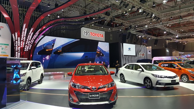Motor show opens in HCM City