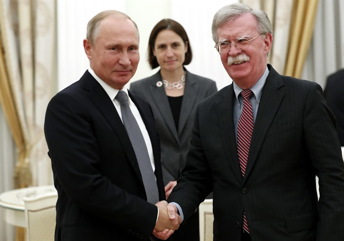 US security chief says productive talks in Moscow despite treaty pull out