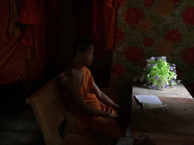 Through the lenses: Monks at a border temple