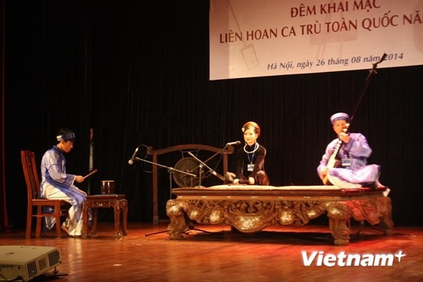 Hà Tĩnh hosts fourth National Ca Trù Festival