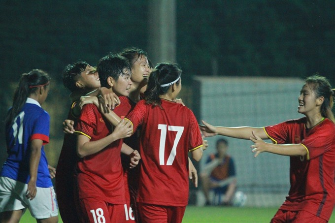 Việt Nam defeat Malaysia at AFC U19 Womens Champs