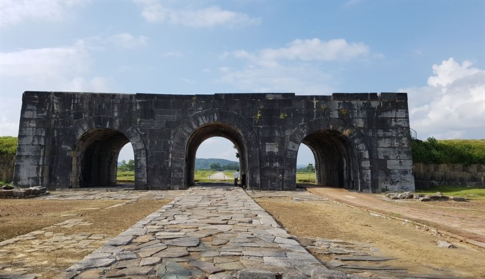 US provides funds to restore Hồ Citadel
