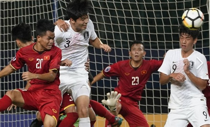 Việt Nam lose to South Korea at AFC U19 Champs