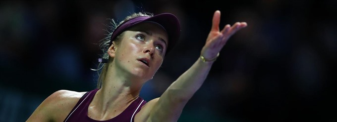 Elina Svitolina wins WTA Finals in Singapore
