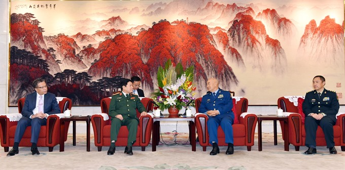 Việt Nam China beef up defence ties: ministers