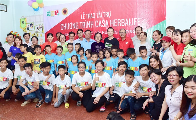 Herbalife Nutrition Foundation renews support for Hậu Giang Province orphanage