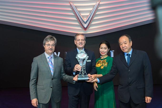 VinFast wins AUTOBEST 'A Star is Born award