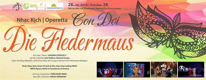 Die Fledermaus operetta at Opera House