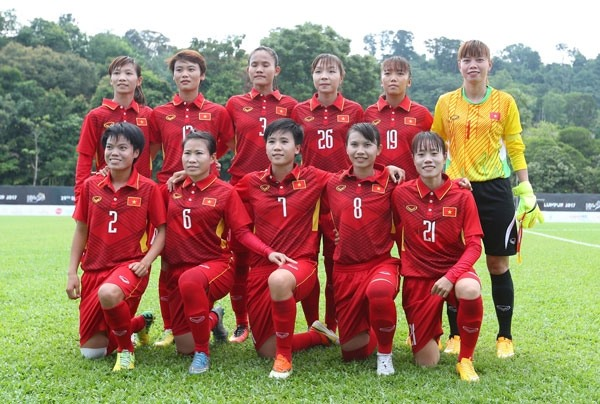 VN female football team rise one step in FIFA rankings