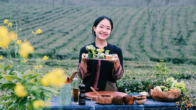 Vietnamese girl aspires to promote Vietnamese cuisines